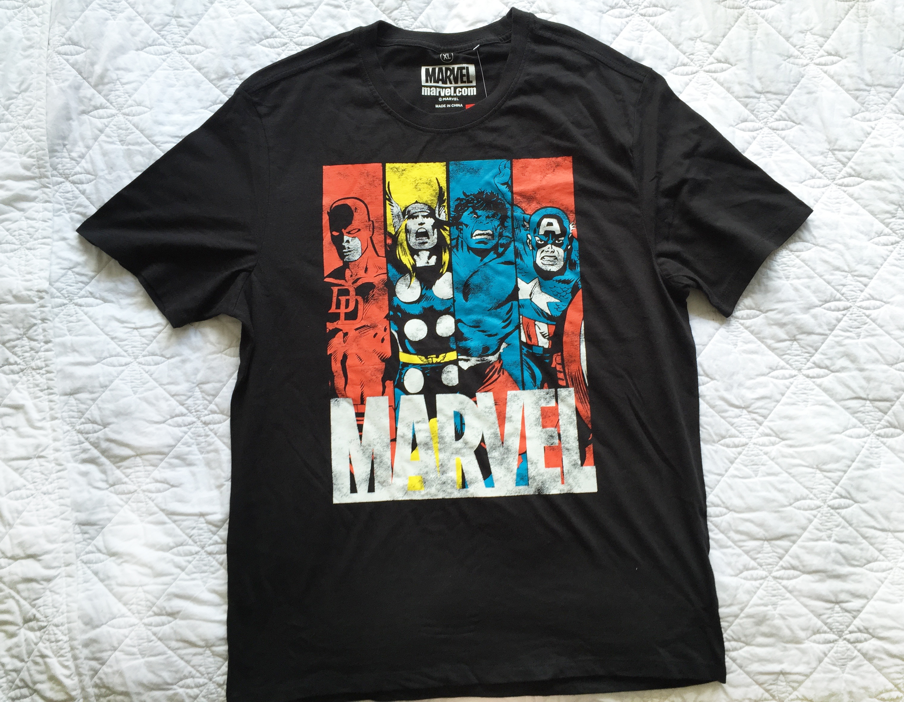 MARVEL tshirt from Kmart