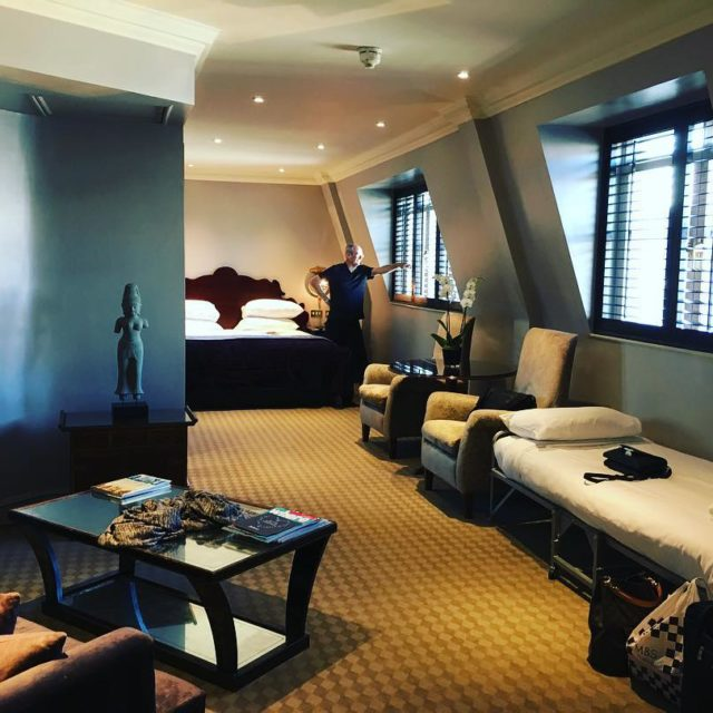 Staying at the Radisson Blu on our last leg! leicestersquarehellip