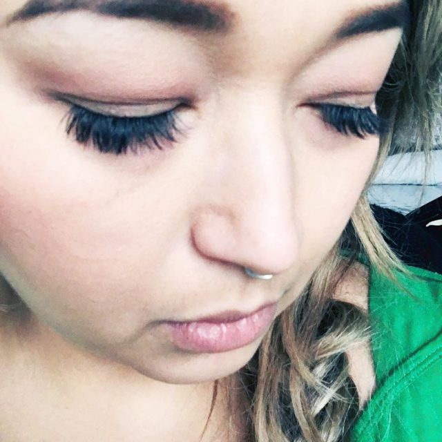 Showing off my amazing eyelash extensions from Holy Lashes inhellip